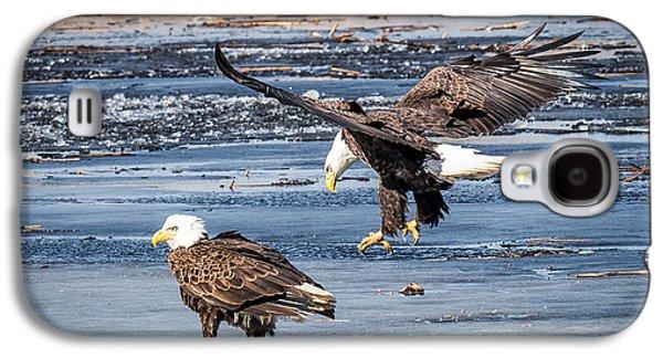 Two Eagles Galaxy S4 Case by Paul Freidlund