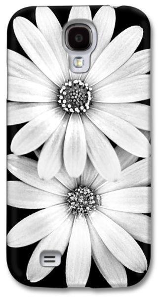 Two Flowers Galaxy S4 Case by Az Jackson