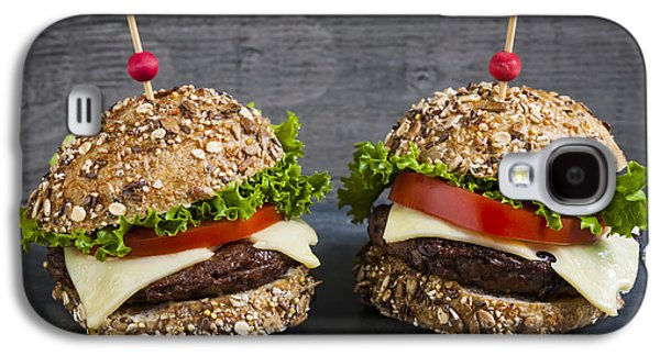 Two Gourmet Hamburgers Galaxy S4 Case