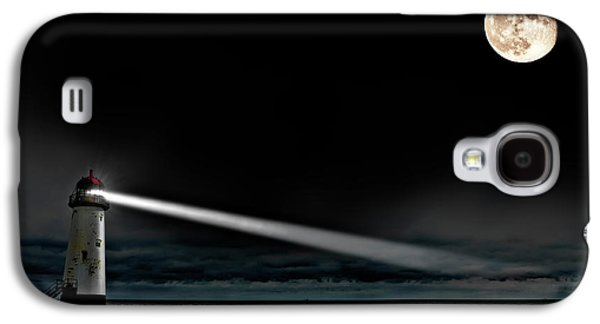 Lighthouse Galaxy S4 Cases - Two Guiding Lights Galaxy S4 Case by Meirion Matthias