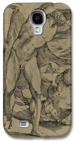 Two Nude Men  One Standing, One Reclining Galaxy S4 Case