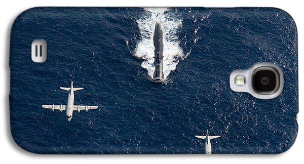 Two P-3 Orion Maritime Surveillance Galaxy S4 Case