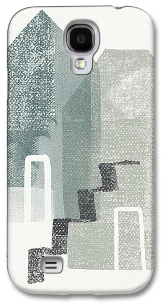 Two Tall Houses- Art By Linda Woods Galaxy S4 Case by Linda Woods