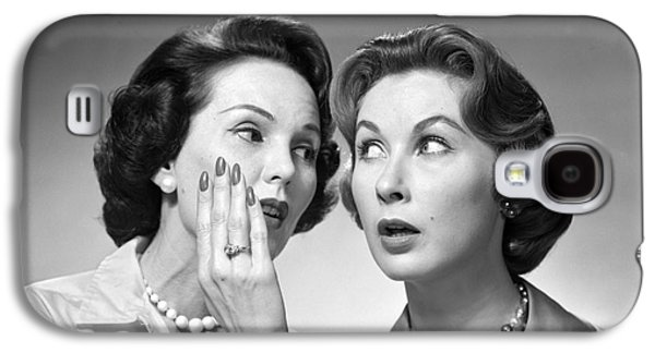 Two Women Gossiping, C.1950-60s Galaxy S4 Case