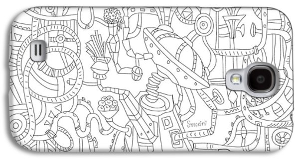Two Worlds Galaxy S4 Case