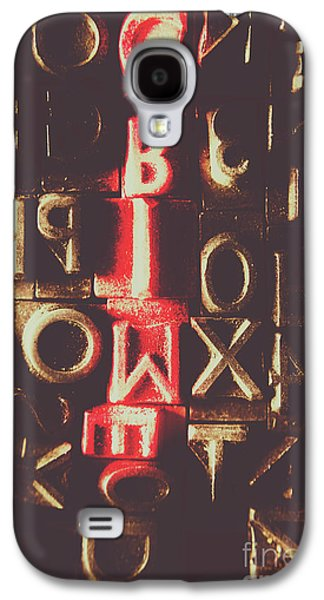 Type Of Criminal Evidence Galaxy S4 Case by Jorgo Photography - Wall Art Gallery