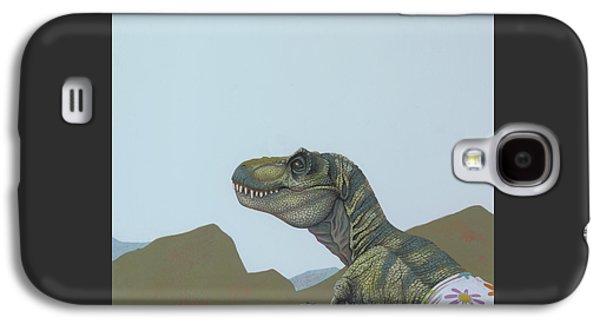 Tyranosaurus Rex Galaxy S4 Case by Jasper Oostland