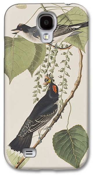 Tyrant Fly Catcher Galaxy S4 Case by John James Audubon