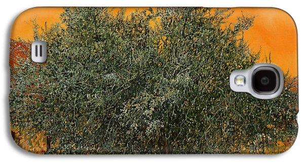 Un Altro Ulivo Al Tramonto Galaxy S4 Case by Guido Borelli