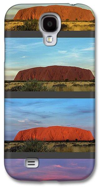 Uluru Sunset Galaxy S4 Case