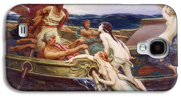 Ulysses And The Sirens Galaxy S4 Case by Herbert James Draper