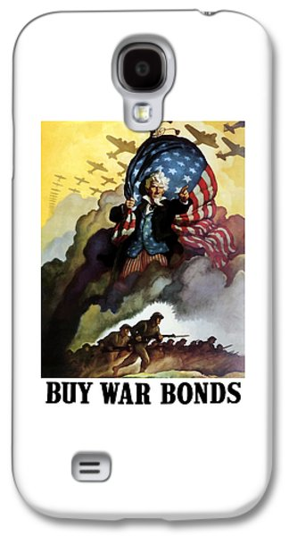 Landmarks Galaxy S4 Case - Uncle Sam - Buy War Bonds by War Is Hell Store