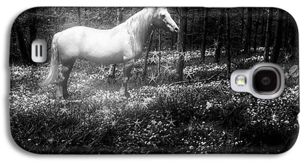 Under A Moonlit Sky  #fantasy #unicorn Galaxy S4 Case