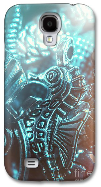 Seahorse Galaxy S4 Case - Under Blue Seas by Jorgo Photography - Wall Art Gallery