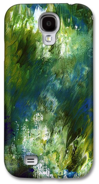 Under The Canopy- Abstract Art By Linda Woods Galaxy S4 Case