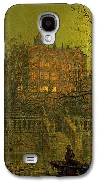 Under The Moonbeams, 1882 Galaxy S4 Case by John Atkinson Grimshaw