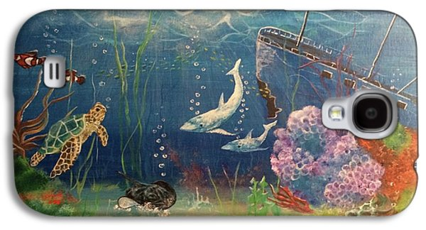 Under The Sea Galaxy S4 Case