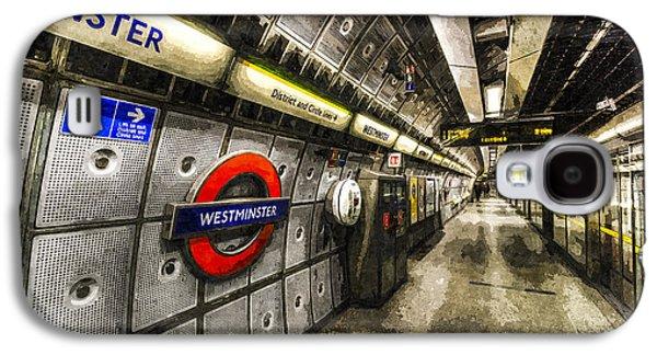 Underground London Art Galaxy S4 Case by David Pyatt