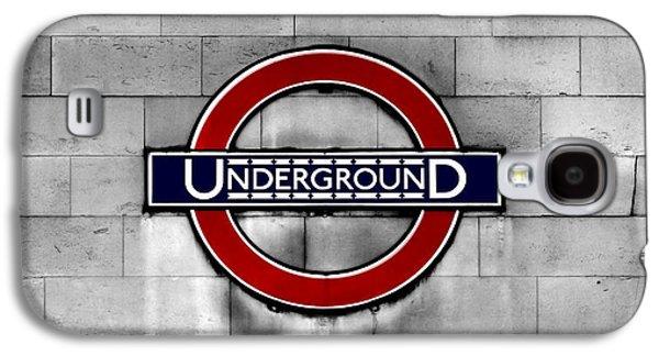 Underground Galaxy S4 Case by Mark Rogan
