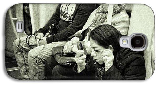 Underground Rimmel #blackandwhite Galaxy S4 Case by Rafa Rivas