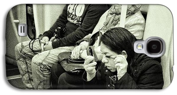 London Galaxy S4 Case - Underground Rimmel #blackandwhite by Rafa Rivas
