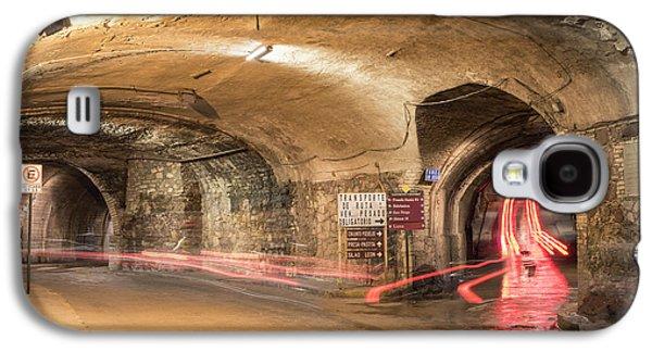 Underground Tunnels In Guanajuato, Mexico Galaxy S4 Case by Juli Scalzi