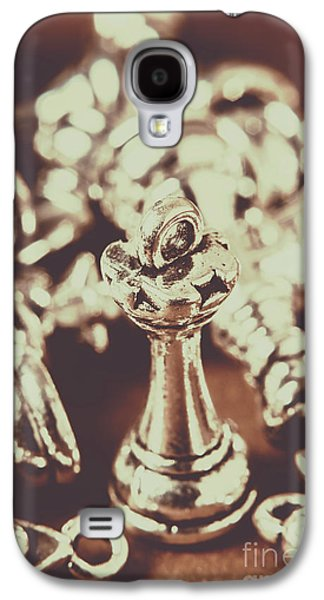 Galaxy S4 Case featuring the photograph Unfallen Tower Of The Chess Game by Jorgo Photography - Wall Art Gallery