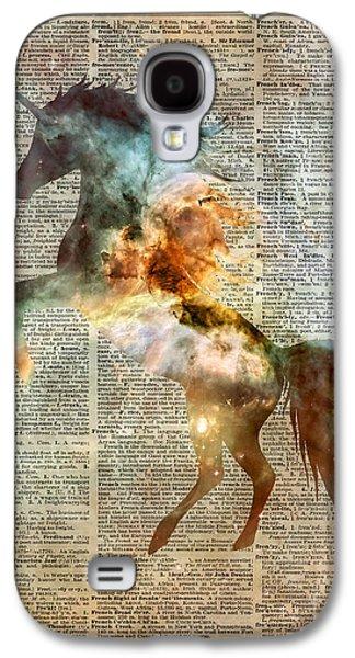 Unicorn Carina Nebula Galaxy S4 Case by Jacob Kuch