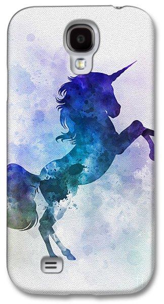 Unicorn Galaxy S4 Case by Rebecca Jenkins
