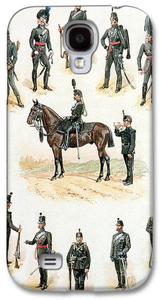 Uniforms Of The Rifle Brigade Galaxy S4 Case