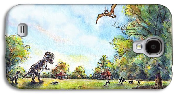 Uninvited Picnic Guests Galaxy S4 Case