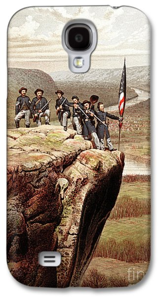 Union Soldiers On Lookout Mountain, Tennessee Galaxy S4 Case by James Fuller Queen