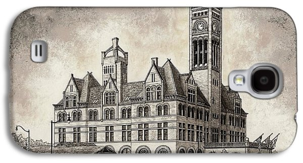 Union Station Mixed Media Galaxy S4 Case