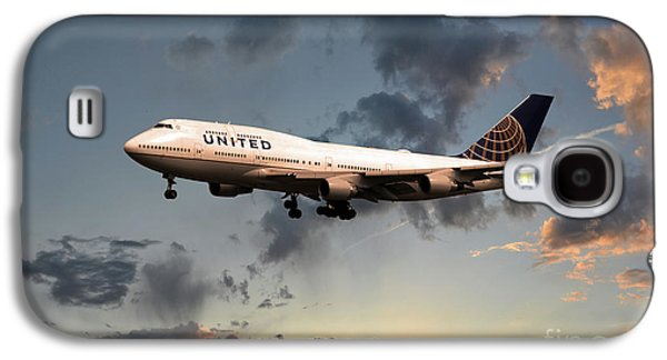 United Boeing 747-422 Galaxy S4 Case