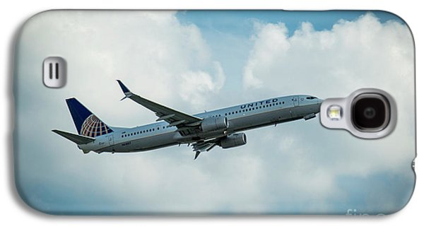 United Jet N61887 Departure Hartsfield-jackson Atlanta International Airport Art Galaxy S4 Case