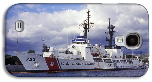 Law Enforcement Galaxy S4 Cases - United States Coast Guard Cutter Rush Galaxy S4 Case by Michael Wood