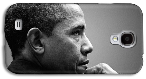United States President Barack Obama Bw Galaxy S4 Case