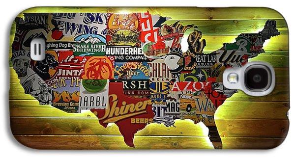 United States Wall Art Galaxy S4 Case