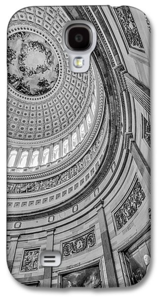 Unites States Capitol Rotunda Bw Galaxy S4 Case