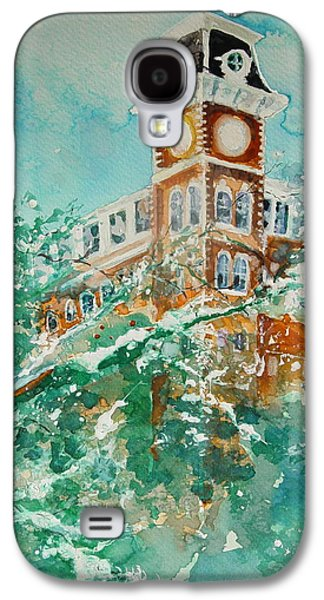 Ice On Old Main Galaxy S4 Case by Robin Miller-Bookhout