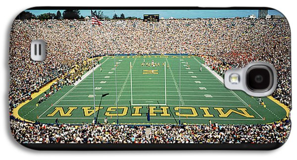 University Of Michigan Stadium, Ann Galaxy S4 Case by Panoramic Images