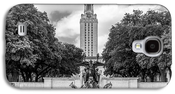 University Of Texas Austin Littlefield Fountain Galaxy S4 Case by University Icons