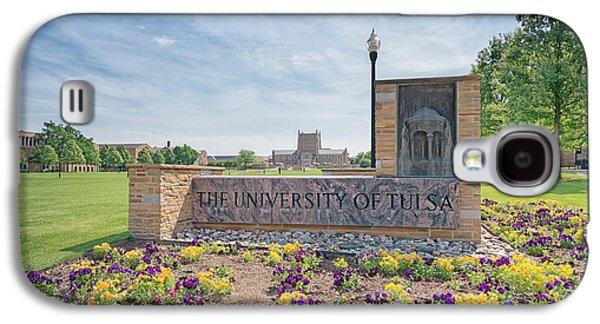 University Of Tulsa Mcfarlin Library Galaxy S4 Case by Roberta Peake