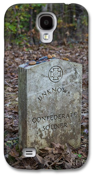 Unknown Confederate Soldier - Natchez Trace Galaxy S4 Case by Debra Martz