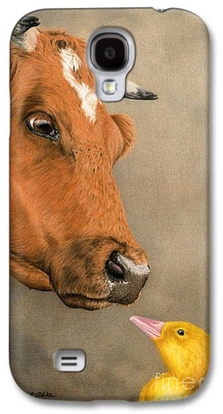 Friends Come In All Sizes Galaxy S4 Case by Sarah Batalka