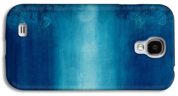 Untitled Blue Painting Galaxy S4 Case