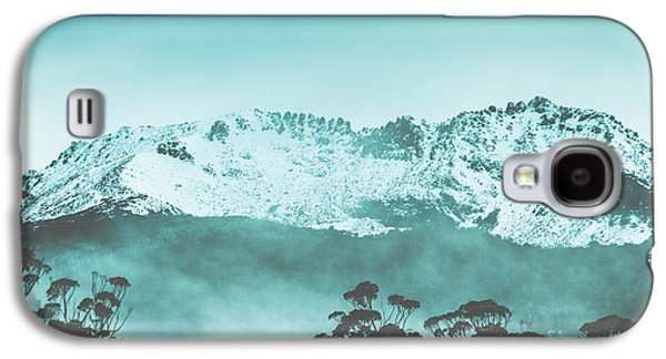Untouched Winter Peaks Galaxy S4 Case by Jorgo Photography - Wall Art Gallery