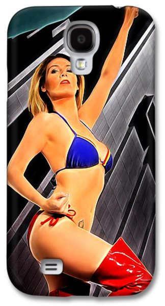 Up Up And Away Galaxy S4 Case by Jon Volden