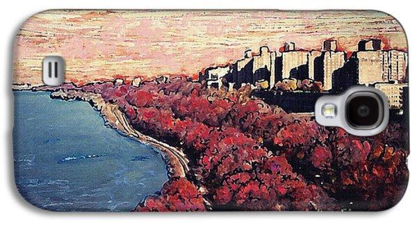 Upper Manhattan Along The Hudson River Galaxy S4 Case