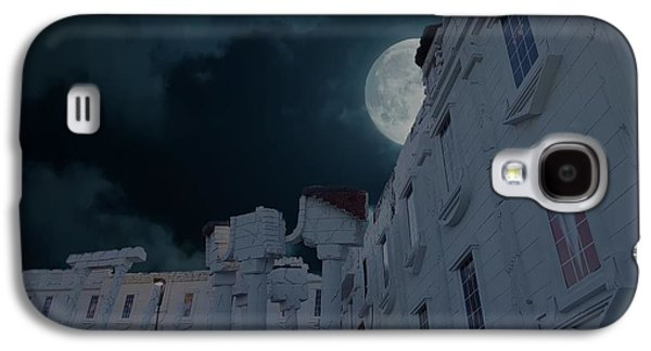 Upside Down White House At Night Galaxy S4 Case
